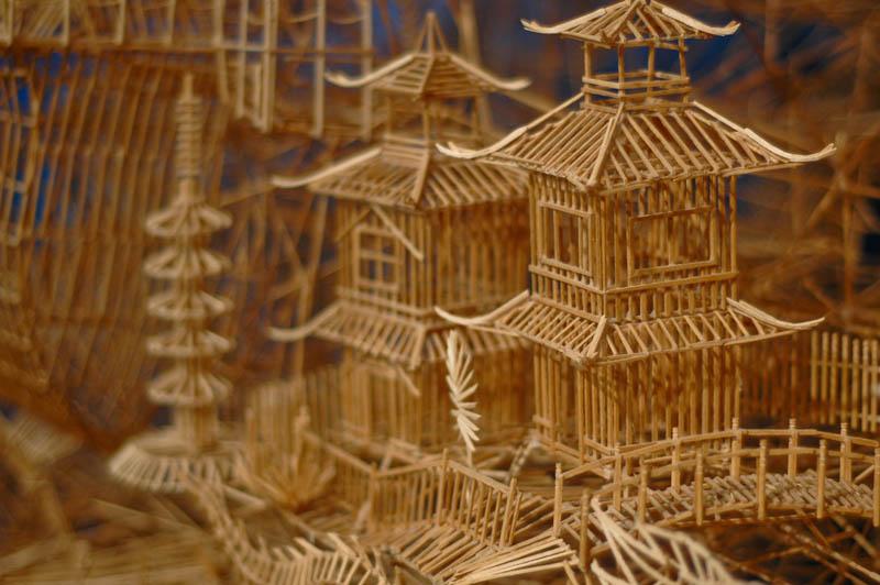 san francisco toothpicks scott weaver rolling through the bay 13 Kinetic San Francisco by Scott Weaver: 35 Years & 100,000 Toothpicks