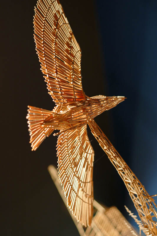 san francisco toothpicks scott weaver rolling through the bay 14 Kinetic San Francisco by Scott Weaver: 35 Years & 100,000 Toothpicks