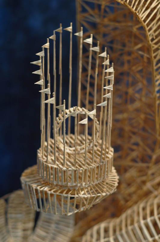 san francisco toothpicks scott weaver rolling through the bay 18 Kinetic San Francisco by Scott Weaver: 35 Years & 100,000 Toothpicks