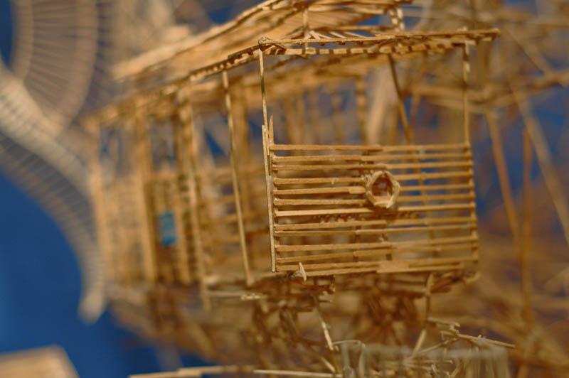 san francisco toothpicks scott weaver rolling through the bay 20 Kinetic San Francisco by Scott Weaver: 35 Years & 100,000 Toothpicks