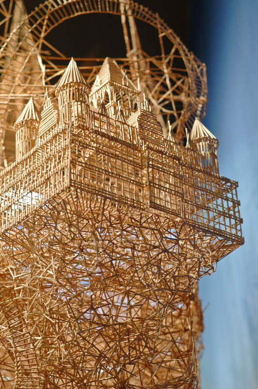 san francisco toothpicks scott weaver rolling through the bay 3 Kinetic San Francisco by Scott Weaver: 35 Years & 100,000 Toothpicks