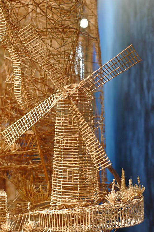 san francisco toothpicks scott weaver rolling through the bay 5 Kinetic San Francisco by Scott Weaver: 35 Years & 100,000 Toothpicks