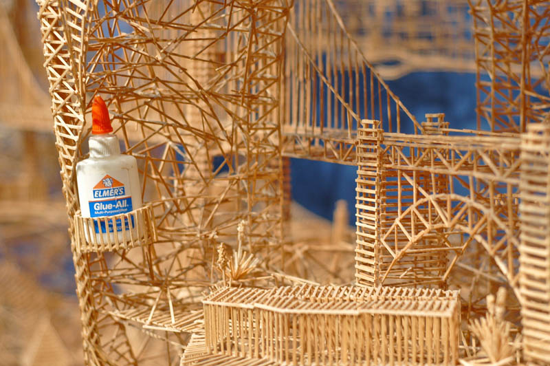 san francisco toothpicks scott weaver rolling through the bay 8 Kinetic San Francisco by Scott Weaver: 35 Years & 100,000 Toothpicks