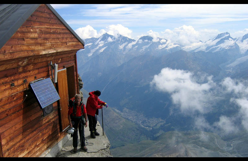 Picture of the Day: Solvay. The Highest Hut on theMatterhorn