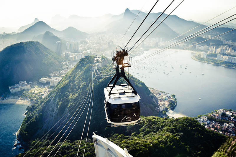 Picture of the Day: The Sugarloaf Mountain Cable Car, Rio deJaneiro