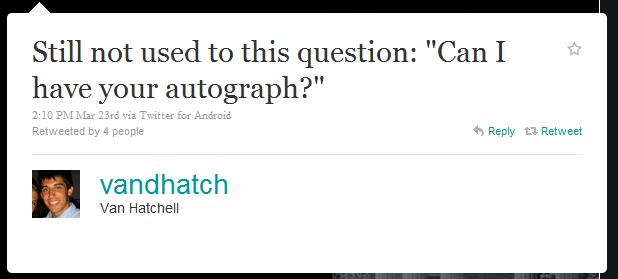 van hatchell humblebrag The 50 Funniest Humble Brags on Twitter