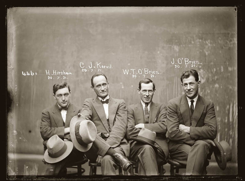 vintage mugshots black and white 13 Vintage Mugshots from the 1920s