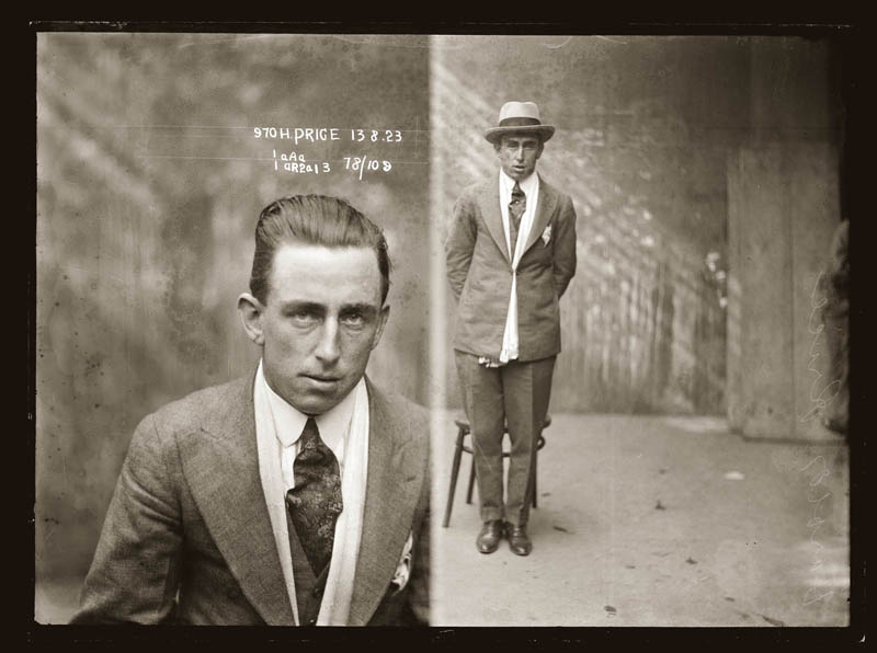 vintage mugshots black and white 14 Vintage Mugshots from the 1920s