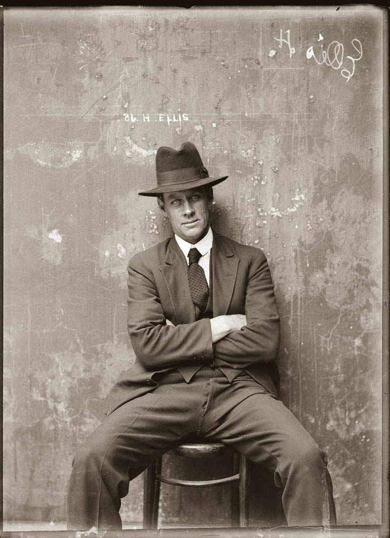 vintage mugshots black and white 15 Vintage Mugshots from the 1920s