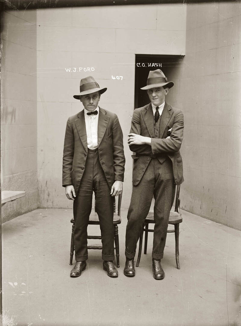 vintage mugshots black and white 16 Vintage Mugshots from the 1920s