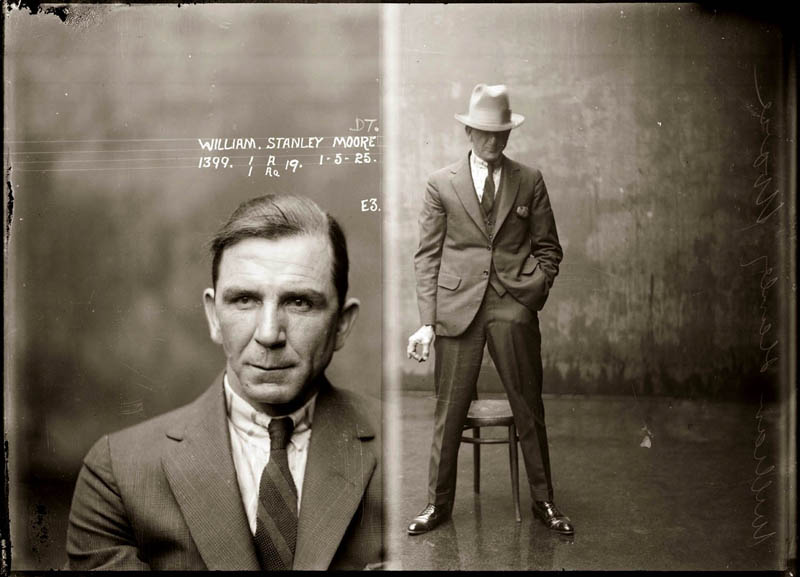 vintage mugshots black and white 17 Photos of the Empire State Building Under Construction