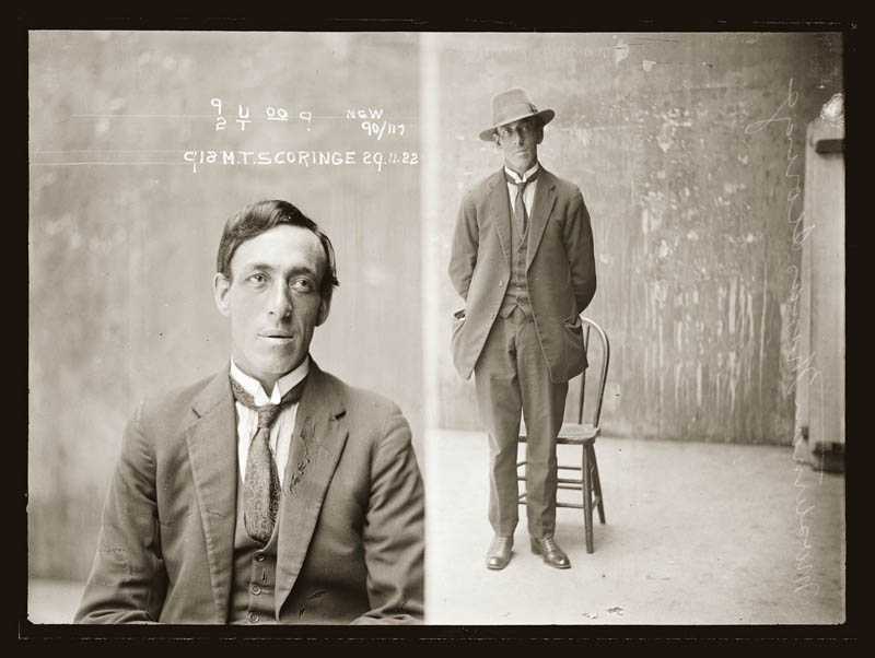 vintage mugshots black and white 20 Vintage Mugshots from the 1920s