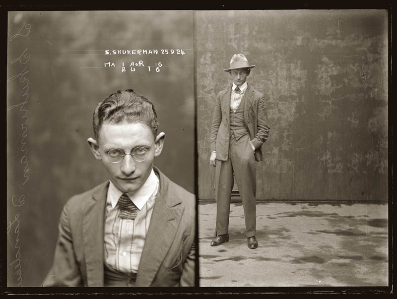 vintage mugshots black and white 24 Vintage Mugshots from the 1920s