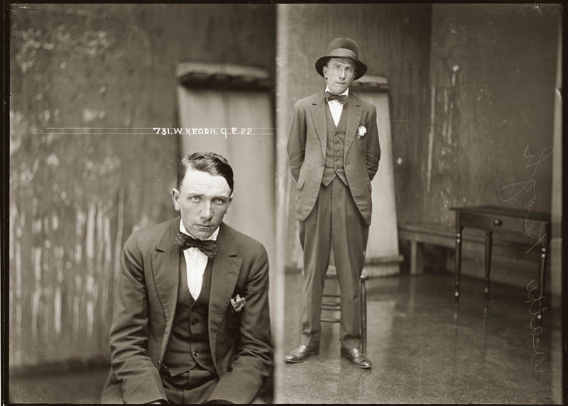 vintage mugshots black and white 27 Vintage Mugshots from the 1920s