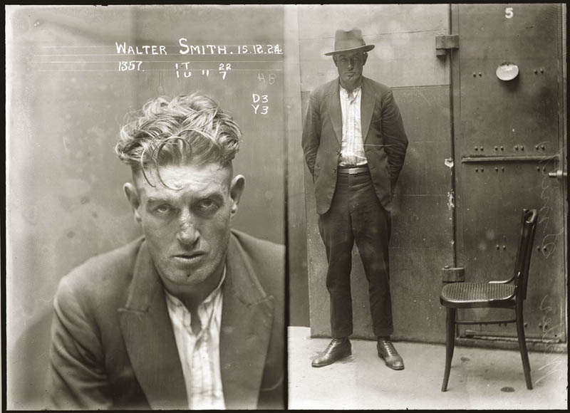 vintage mugshots black and white 28 Vintage Mugshots from the 1920s