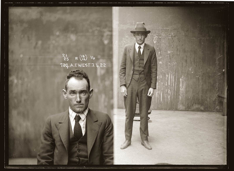 vintage mugshots black and white 30 Vintage Mugshots from the 1920s