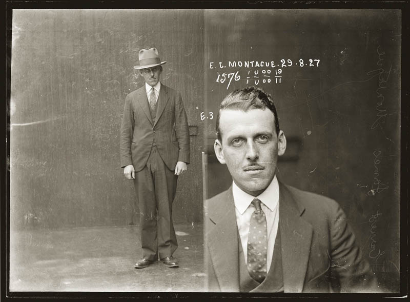 vintage mugshots black and white 6 Vintage Mugshots from the 1920s
