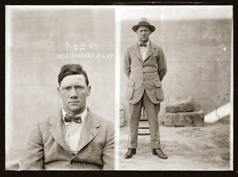 vintage mugshots black and white 7 Vintage Mugshots from the 1920s