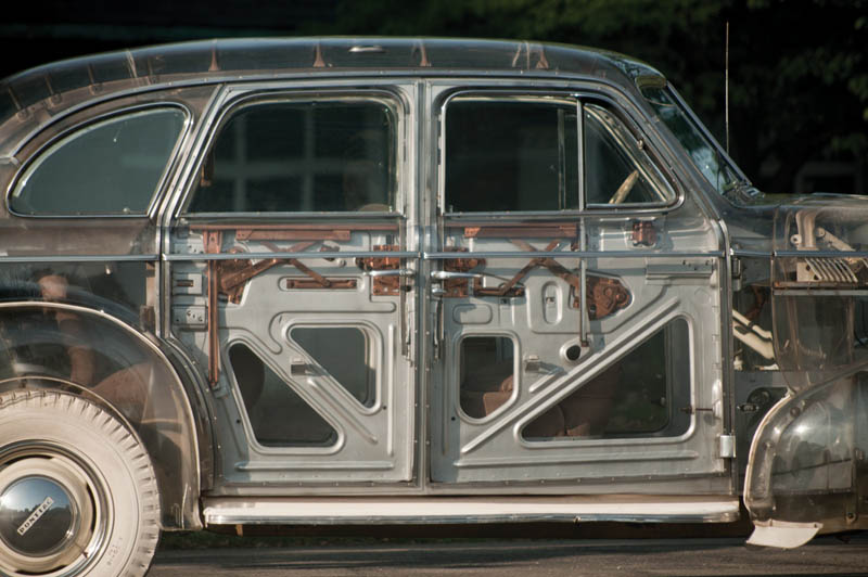 1939 pontiac plexiglass ghost car see through 9 The 1939 Pontiac Plexiglass Ghost Car