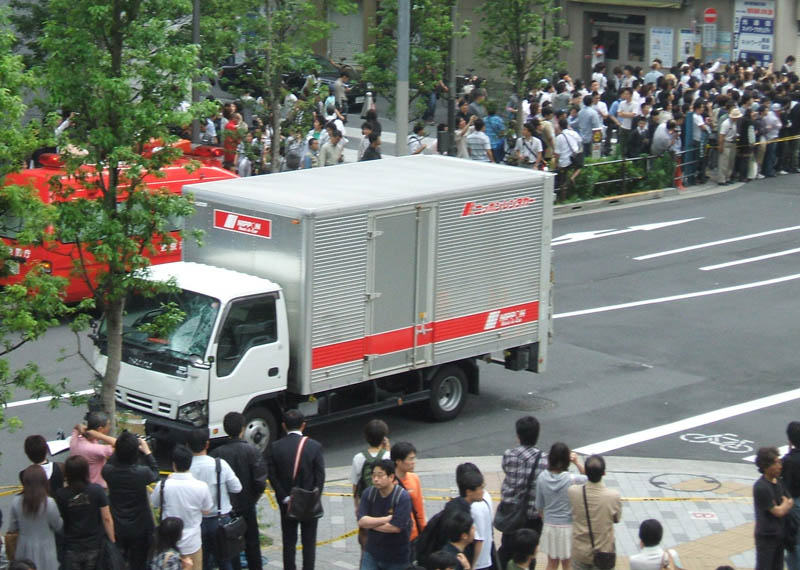 akihabara massacre truck This Day In History   June 8th