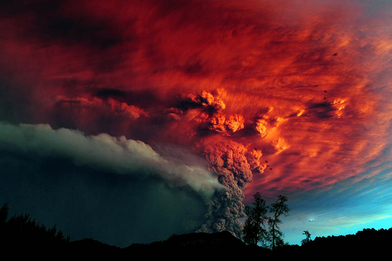 chiles puyehue volcano eruption june 2011 31 30 Incredible Photos of Volcanic Eruptions
