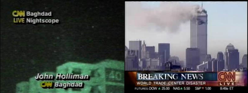 cnn screenshot of gulf war 911 attacks coverage This Day In History   June 1st