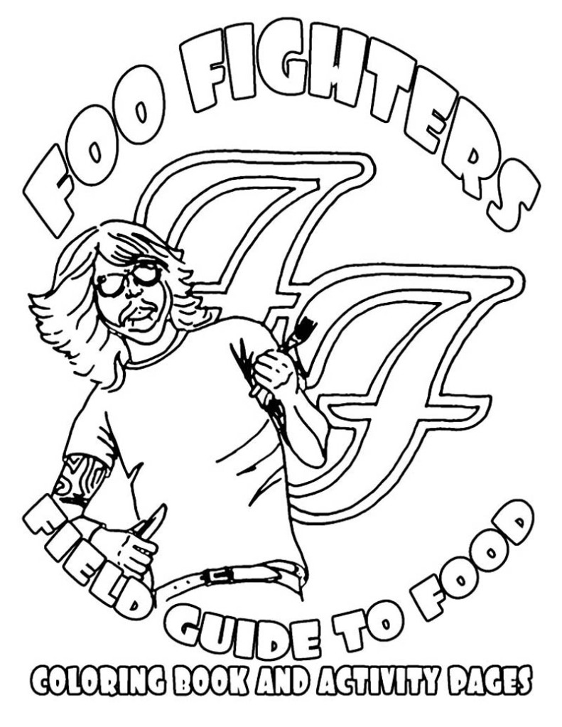 The Hilarious Foo Fighters Illustrated TourRider
