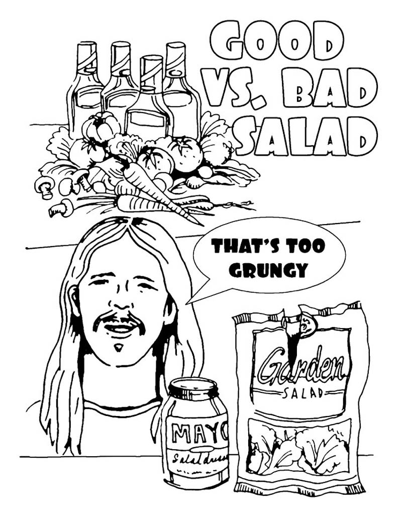 The Hilarious Foo Fighters Illustrated Tour Rider