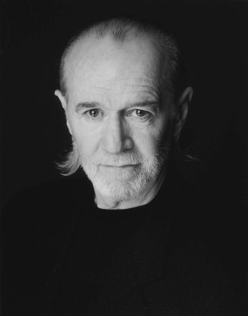 george carlin black and white This Day In History   June 22nd