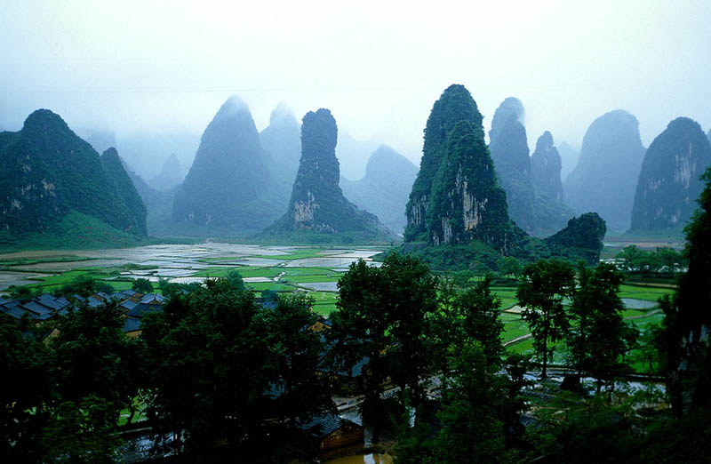 Picture of the Day: The Guilin Hills of China