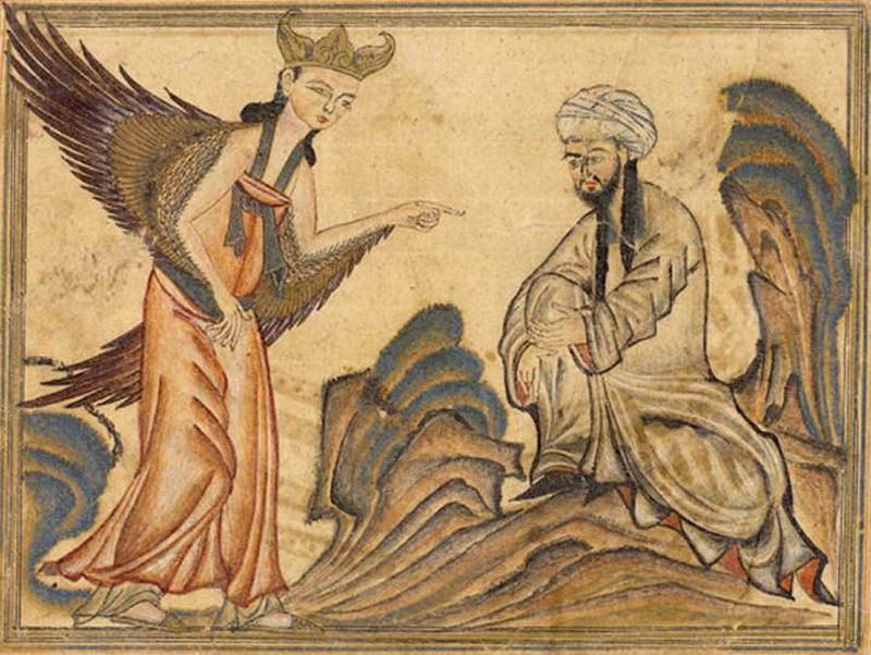 mohammed receiving revelation from the angel gabriel This Day In History   June 8th