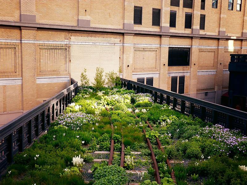 Delightful New York High Line Manhattan 1 The High Line: New Yorks Park In The Sky