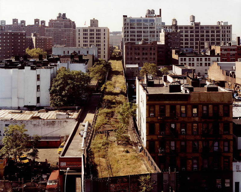 nyc highline aerial joel sternfeld The 8 Level Rooftop Park in Osaka, Japan