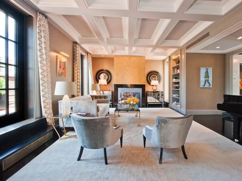 Park Avenue Penthouse In Manhattan Nyc 20 Photos