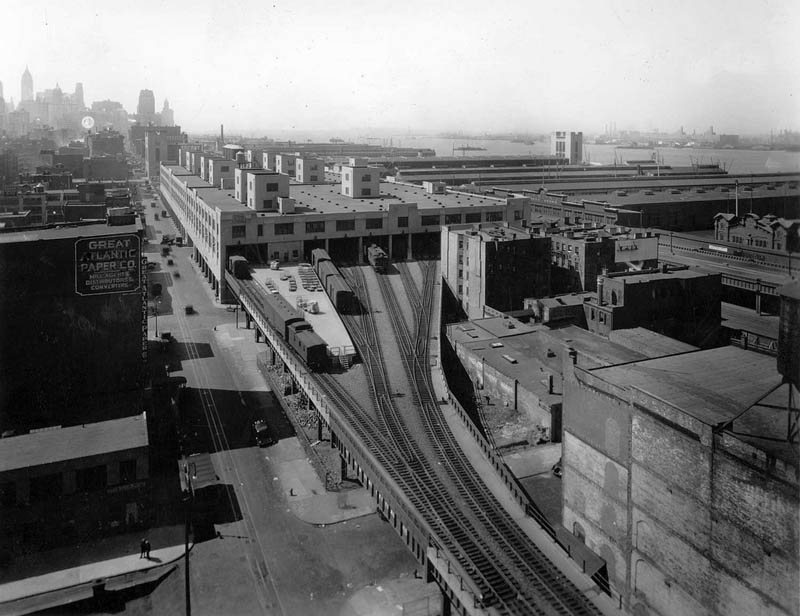 st johns park terminal vintage black and white The High Line: New Yorks Park in the Sky [25 pics]