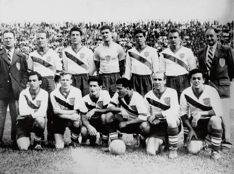 team usa world cup 1950 miracle on grass defeats england team photo This Day In History   June 29th