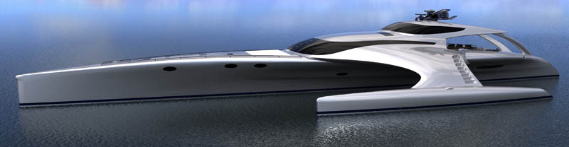 adastra superyacht john shuttleworth yacht designs power trimaran11 The Trimaran Adastra Superyacht by John Shuttleworth [17 pics]