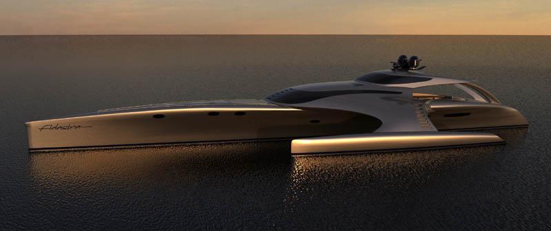 adastra superyacht john shuttleworth yacht designs power trimaran9 The Trimaran Adastra Superyacht by John Shuttleworth [17 pics]