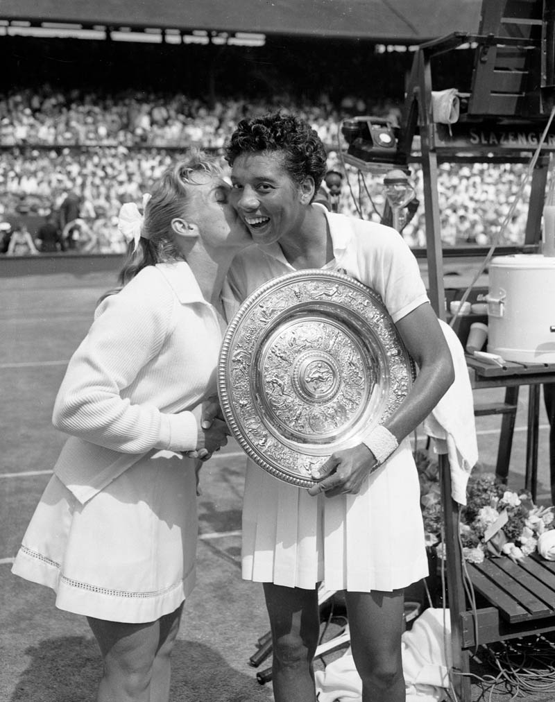 althea gibson This Day In History   July 6th
