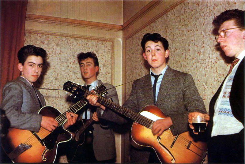 beatles quarrymen when they were young This Day In History   July 6th
