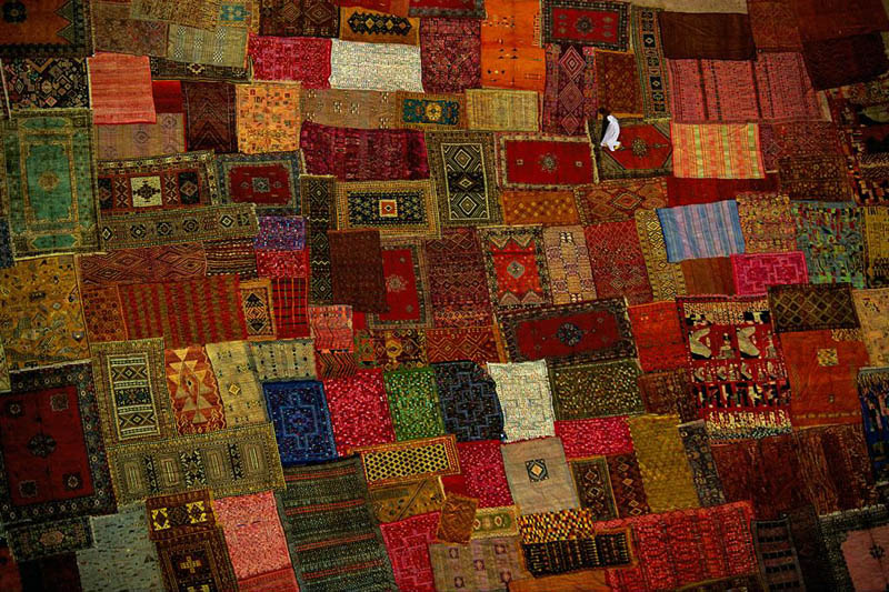 Picture of the Day: Carpet Factory inMorocco