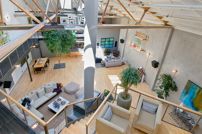 coolest loft ever 19 An Old Clock Tower Converted Into a Penthouse