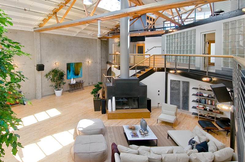 coolest loft ever 7 Coolest. Loft. Ever. [40 pics]