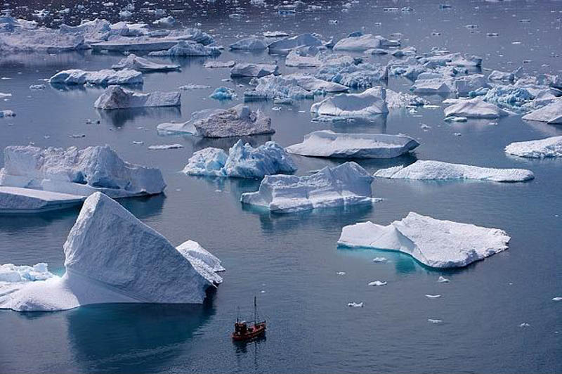 eroded icebers erics fjord kitaa greenland 10 Things You Didnt Know About Greenland