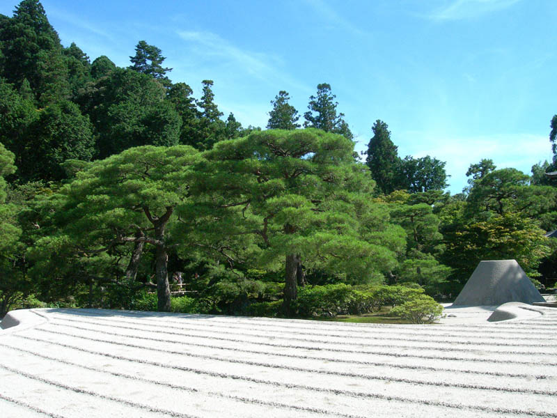 ginkau ji zen garden japan 20 Stunning Japanese Gardens Around the World