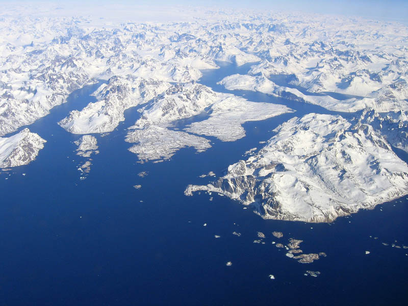 greenland aerial from above 10 Things You Didnt Know About Greenland
