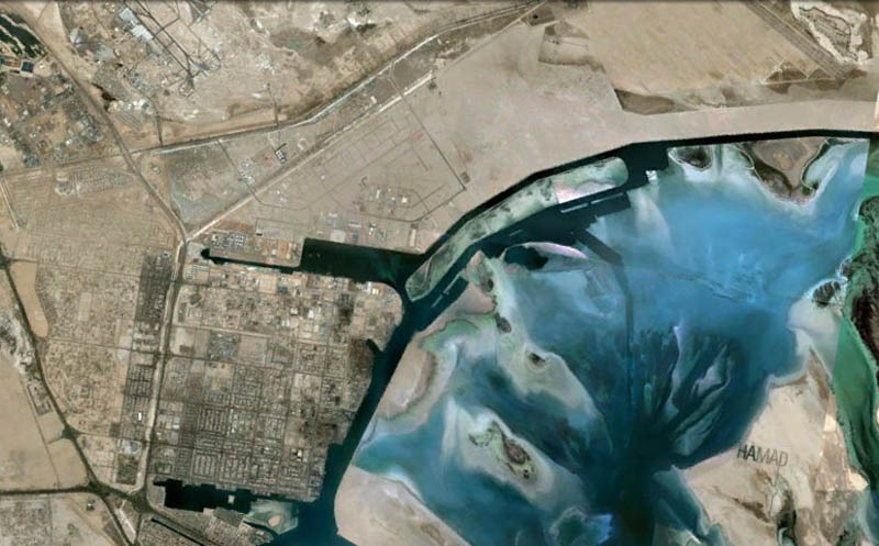 hamad name visible from space google earth sheikh abu dhabi 3 Picture of the Day: Space Graffiti