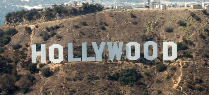hollywood sign aerial This Day In History   July 13th