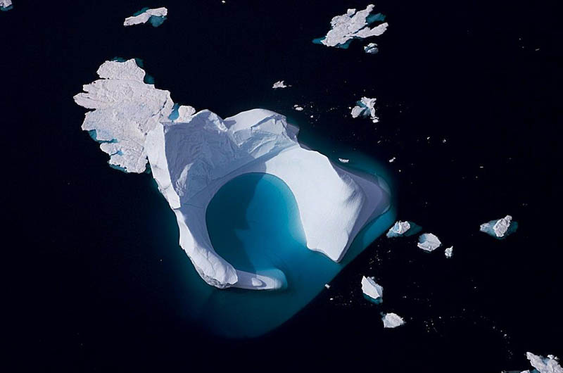 iceberg aerial sydproven greenland 10 Things You Didnt Know About Greenland