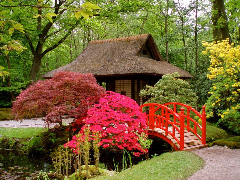 japanese garden netherlands 20 Stunning Japanese Gardens Around the World
